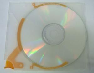 CDをケースにしまった状態