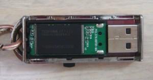 USBフラッシュメモリのカバーが取れてしまいました。