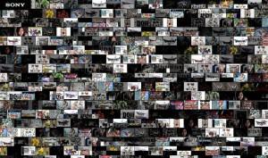 スクリーンセイバーとしてネット上の画像が表示