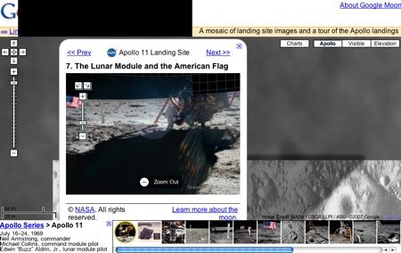 アポロ計画の写真がみれます