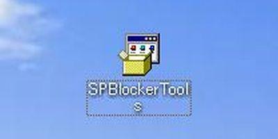 ダウンロードした「Windows Service Pack ブロッカー ツール キット」