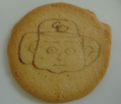 ドアラのプリントクッキー