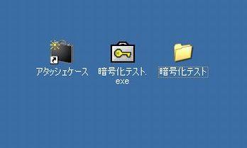 元のフォルダ/ファイルが複合される